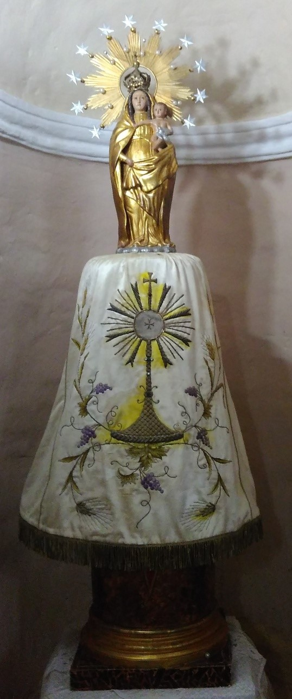 Virgen del Pilar en la Iglesia
